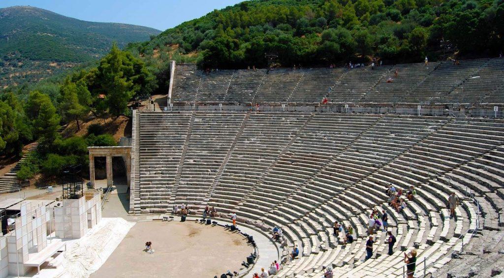 Επίδαυρος – Η αρχιτεκτονική του αρχαίου θεάτρου