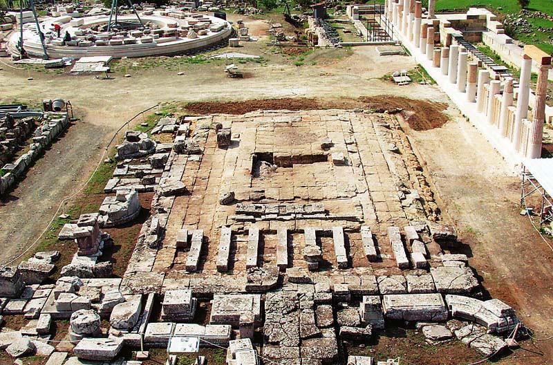 Επίδαυρος - Αρχαιολογικός χώρος - Μουσείο - Ιερό Ασκληπιού - Θόλος