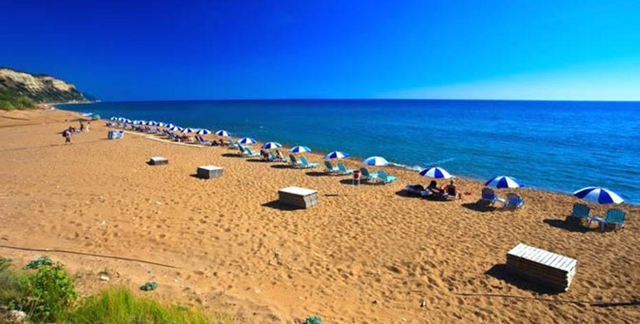 Παραλία Ίσσος στην Κέρκυρα, «Η Σαχάρα της Κέρκυρας»