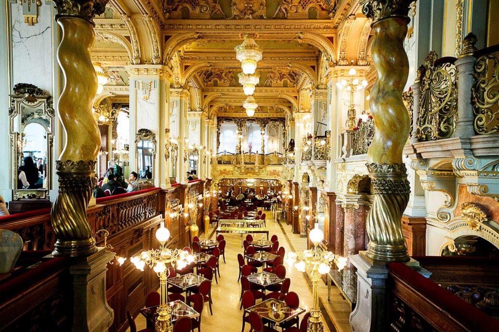 New York Café, στο Boscolo Hotel, Βουδαπέστη