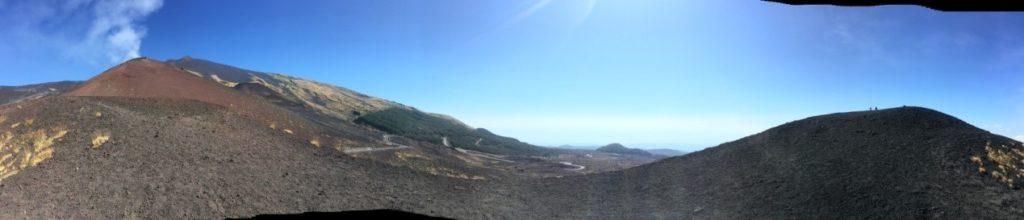 Αitna – Mount Etna, Στο ενεργό ηφαίστειο της Σικελία