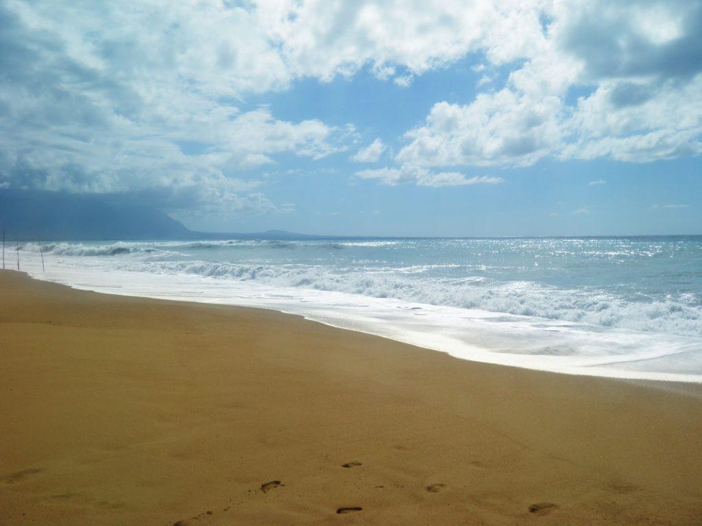 Κυπαρισσιακός Κόλπος, κολύμπι στους αμμόλοφους